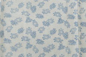 松原利男作 藍型染小紋のサブ4画像