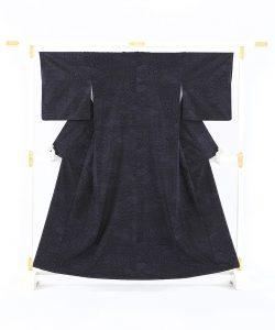 結城紬160亀甲総絣 着物のメイン画像