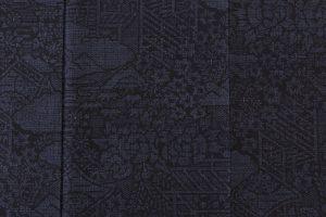 結城紬160亀甲総絣 着物のサブ4画像