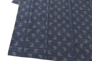 藍染 大島紬着物のサブ2画像