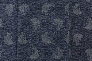 藍染 大島紬着物のサブ3画像