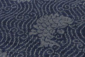 藍染 大島紬着物のサブ5画像