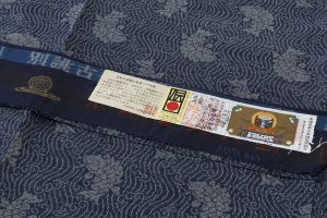 藍染 大島紬着物のサブ6画像