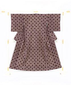 紫根染 綿着物のメイン画像
