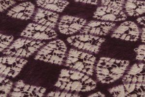 紫根染 綿着物のサブ6画像