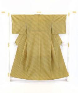 人間国宝 北村武資作 紬着物のメイン画像