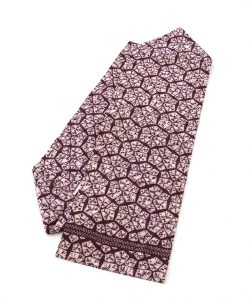 紫根染 綿名古屋帯のメイン画像