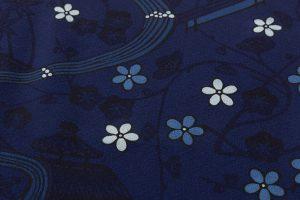 本紅型染 藍型小紋のサブ5画像