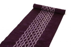 草紫堂製南部紫根染 綿名古屋帯地のサブ1画像