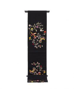 龍村美術織物たつむら製 袋帯「花喰舞鳥文」のメイン画像