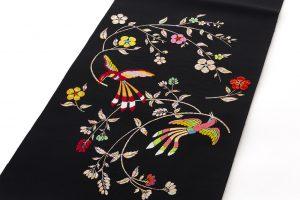 龍村美術織物たつむら製 袋帯「花喰舞鳥文」のサブ1画像