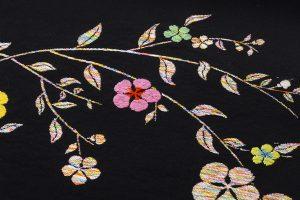 龍村美術織物たつむら製 袋帯「花喰舞鳥文」のサブ3画像