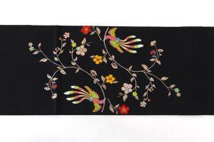 龍村美術織物たつむら製 袋帯「花喰舞鳥文」のサブ4画像