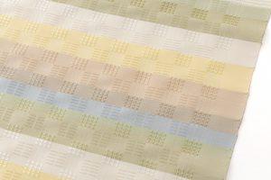 ルバース・ミヤヒラ吟子作 花倉織名古屋帯地のサブ2画像