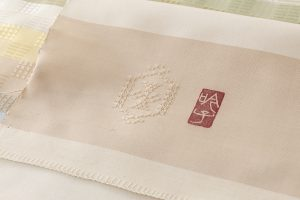 ルバース・ミヤヒラ吟子作 花倉織名古屋帯地のサブ4画像