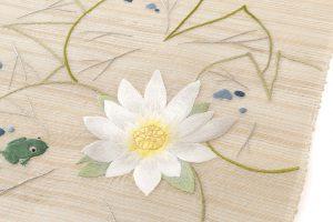 工芸きもの野口製 夏名古屋帯地のサブ2画像