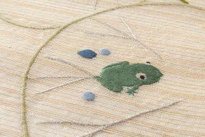 工芸きもの野口製 夏名古屋帯地のサブ3画像