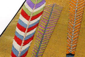 龍村平蔵製 袋帯「大祝矢」のサブ3画像