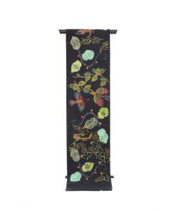鈴木紀絵作 型絵染袋帯のメイン画像