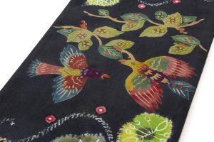 鈴木紀絵作 型絵染袋帯のサブ2画像