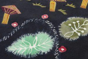 鈴木紀絵作 型絵染袋帯のサブ6画像