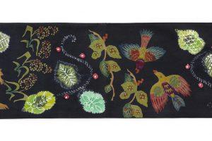鈴木紀絵作 型絵染袋帯のサブ7画像