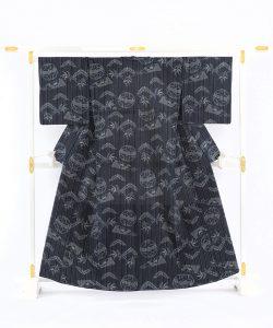 弓浜絣 綿着物のメイン画像