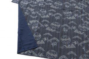弓浜絣 綿着物のサブ3画像