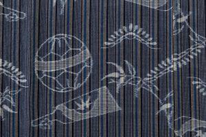 弓浜絣 綿着物のサブ4画像