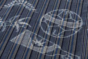 弓浜絣 綿着物のサブ6画像