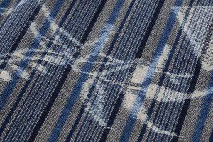 弓浜絣 綿着物のサブ5画像