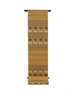 龍村平蔵製 袋帯「鳥いちご錦」のメイン画像