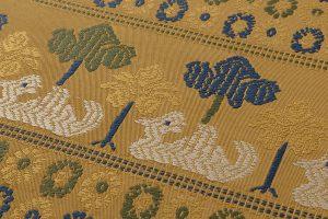 龍村平蔵製 袋帯「鳥いちご錦」のサブ2画像