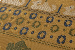 龍村平蔵製 袋帯「鳥いちご錦」のサブ3画像