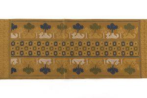 龍村平蔵製 袋帯「鳥いちご錦」のサブ4画像