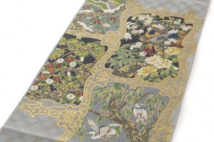 川島織物製 本金箔袋帯のサブ1画像