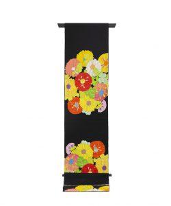 龍村平蔵製 袋帯「貝錫蒔絵菊」のメイン画像