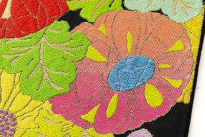 龍村平蔵製 袋帯「貝錫蒔絵菊」のサブ3画像
