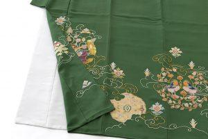 染繍工芸大羊居製 色留袖のサブ2画像
