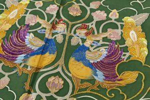染繍工芸大羊居製 色留袖のサブ4画像