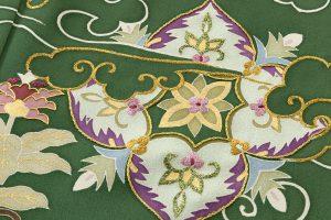 染繍工芸大羊居製 色留袖のサブ5画像