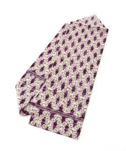 紫根染 紬名古屋帯のメイン画像