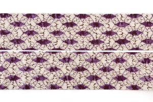 紫根染 紬名古屋帯のサブ4画像