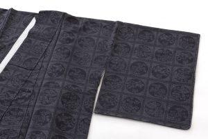 結城紬160亀甲総詰絣着物のサブ1画像