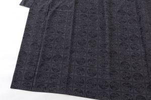 結城紬160亀甲総詰絣着物のサブ2画像