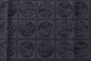 結城紬160亀甲総詰絣着物のサブ4画像