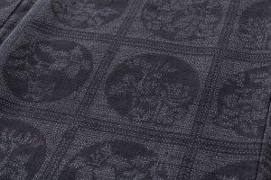 結城紬160亀甲総詰絣着物のサブ5画像