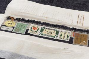 結城紬160亀甲総詰絣着物のサブ7画像