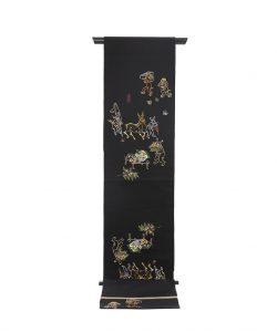 龍村平蔵製 袋帯「とばえまき錦」のメイン画像