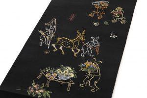 龍村平蔵製 袋帯「とばえまき錦」のサブ1画像
